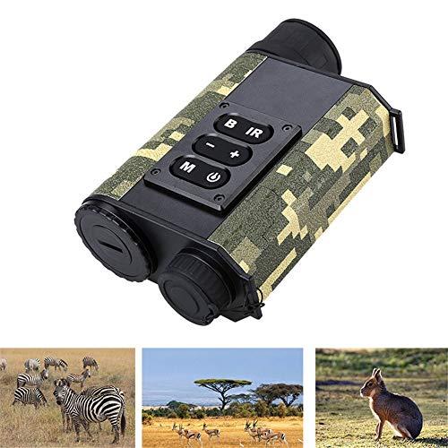 QLPP 200M IR Nachtsicht 500M Range Finder mit 6fach optischem Zoom Multifunktions Infrarot-Entfernungsmesser für die Jagd im Freien,A
