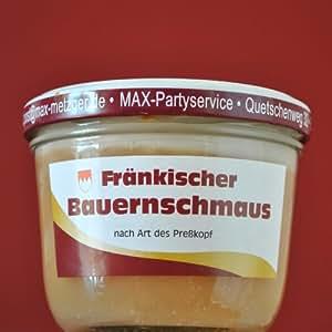 Max Metzger Fränkischer Bauernschmaus (200g Glas)