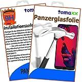 tomaxx Panzerglas Huawei Y5 2018 Panzerfolie Glas Schutzfolie Glasfolie