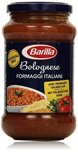 Barilla Pastasauce Bolognese Formaggi Italiani – Bolognese-Sauce 1 Glas (1x400g)