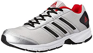 adidas Men's Adisonic M Grey Silver Running Shoes (10 UK/India) (44.7 EU) (AF3015)
