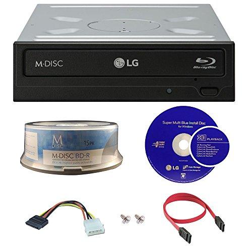 lg-14x-blu-ray-disc-m-cd-dvd-bdxl-bd-bluray-burner-con-15pk-gratis-mdisc-bd-cavi-e-viti-di-montaggio