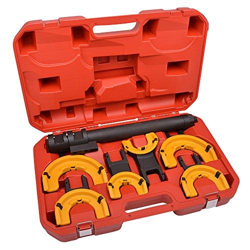 Hesselink® FS-8000 Federspanner extrem Belastbar bis 26.000 Nm I Industriequalität für Schlagschrauber zugelassen I Universal Werkzeug I Einsetzbar bei allen gängigen Automarken