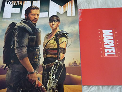Total film magazine #231 may 2015 Mad max road fury Subscribers cover + The art of marvel phase two