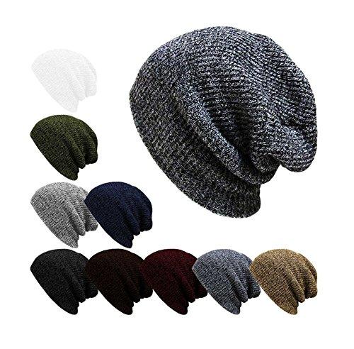Da. Wa lana cappello caldo cappello unisex Black