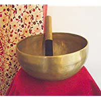 Tibetan Buddhist Large Hand Beaten Singing Bowl; 9in Diameter; 1586grams weight. Produced in Nepal. Playing Stick... preisvergleich bei billige-tabletten.eu