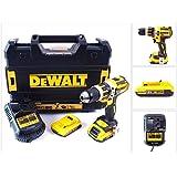 DeWalt DCD795D2-QW - Taladro Combi sin escobillas XR 18V 13mm 60Nm Li-Ion 2,0Ah con maletín TSTAK