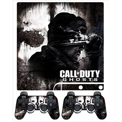 PS3 Slim Skin COD Ghost V-3 by Sign Smith