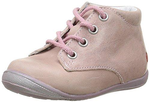GBB Naomi, Chaussures Premiers Pas Bébé Fille Rose (17 Vte Rose Dpf/Kezia)