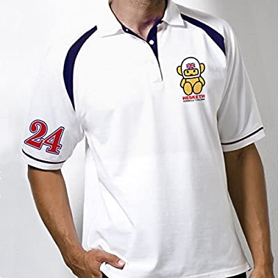 Retro Fomula One Poloshirt Classic Hesketh von Retro Formula 1 bei Outdoor Shop