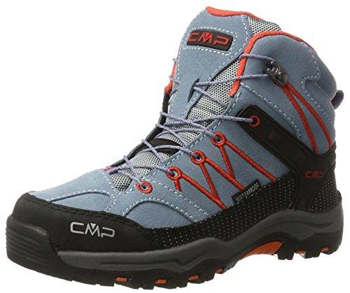 Erwachsenen-kind-böden (CMP Unisex-Erwachsene Rigel Trekking-& Wanderstiefel, Grau (Acciaio), 35 EU)