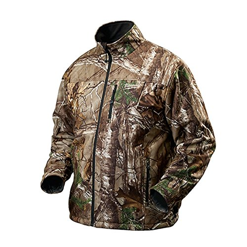 MILWAUKEE ELECTRIC TOOL 2343-2X M12 Cordless Camo Heated Mz Jacket with Battery, XX-Large