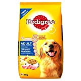 #7: Pedigree Adult Dog Food Chicken & Vegetables, 10 kg Pack