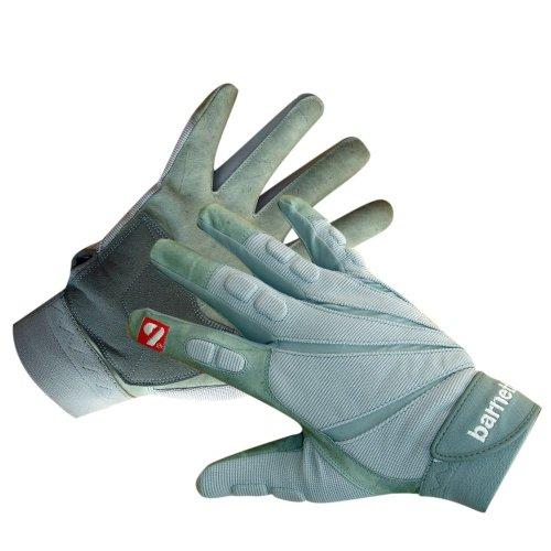 FLG-03 American Football Handschuhe Linemen Profi, grau