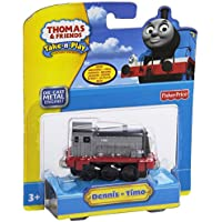 Thomas And Friends Dc Dennis Vehicle Playset