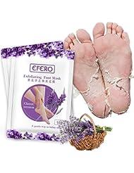 Premium Fußmaske zur Entfernung von Hornhaut I Samtweiche und zarte Füße nach nur einer Anwendung I Exfoliating Foot Mask