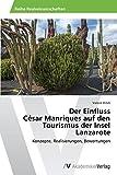 Der Einfluss  César Manriques auf den Tourismus der Insel Lanzarote: Konzepte, Realisierungen, Bewertungen
