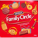Crawfords Family Circle Tub 950gm Big Exclusive Value pack