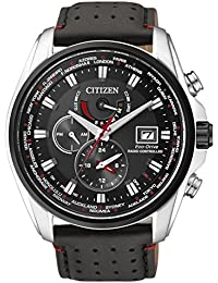 Citizen Herren-Armbanduhr XL Analog Quarz Edelstahl AT9036-08E