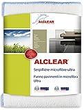 ALCLEAR 950009 Panno Pavimenti in Microfibra Ultra, Dimensioni: 60 x 40 cm, Bianco