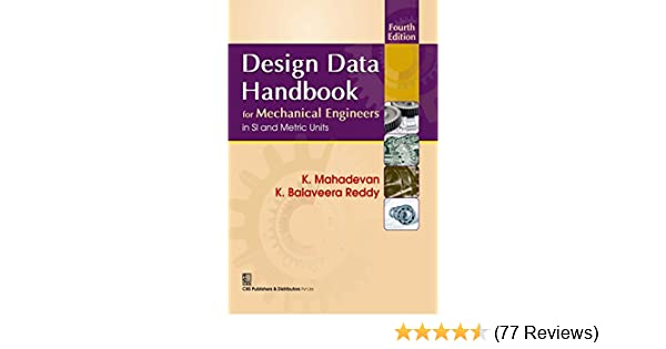 Design Data Hand Book By K Mahadevan Pdf