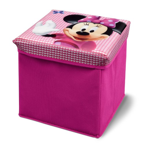 Delta TC85702MN Canvas Ottoman - faltbar - 27 x 27 x 27 cm- Minnie