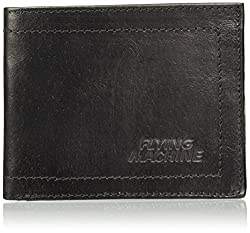 Flying Machine Black Mens Wallet (FMAW0244)