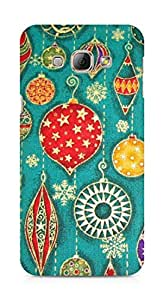 Amez designer printed 3d premium high quality back case cover forSamsung Galaxy A8 (celerate pattern doodle)