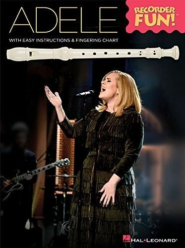 Adele: Recorder Fun!: Noten, Sammelband für Blockflöte