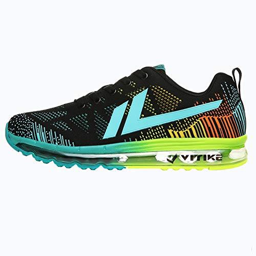 VITIKE Zapatillas Running para Hombre Aire Libre y Deporte Transpirables Casual Zapatos Gimnasio Correr...