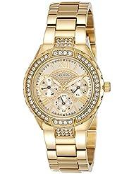 Guess Damen-Armbanduhr Analog Quarz Edelstahl W0111L2