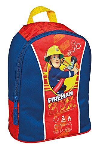 Undercover Boîte à déjeuner- Boîte repas thème pompier, Kindergartenrucksack (bleu) - 10110560