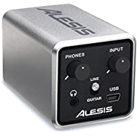Alesis Core 1 | 24-Bit Inline USB Audio Interface, Record via PC, Mac, iOS with Cubase LE software included