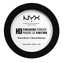 Nyx Professional Makeup High Definition Finishing Powder, Translucent, 8g