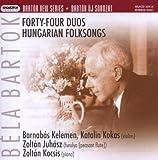 44 Duos Pour 2 Violons - Chansons Populaires Hongroises