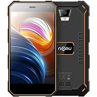 NOMU S10 Pro Outdoor Handy - 5,0 Zoll Smartphone Android 7.0 4G-LTE Dual SIM MTK6737T Quad-Core 3 GB RAM + 32 GB ROM 8.0MP Kamera, 5000mAh Akku, IP 68+ Wasserdichtes Staubdichtes Stoßfestes (Orange)