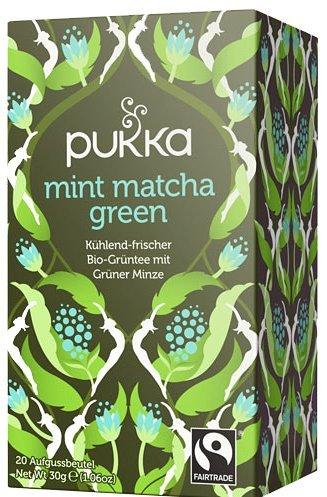 Mint Matcha Green PUKKA, Bio 4er Pkg. à 20 Teebeutel