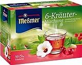 Meßmer 6-Kräuter 50 TB, 2er Pack (2 x 100 g Packung)