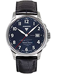 Junkers Herren-Armbanduhr Analog Automatik Leder 68643