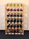Weinregal Weinregal Holz Flaschenregal für 30 Flaschen R – 30 - 2