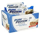 Pure Protein Pure Protein Greek Yogurt Bar Strawberry 50 g 6 ct by Pure Protein