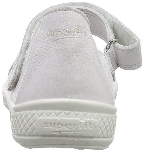 Superfit TENSY Mädchen Geschlossene Ballerinas Weiß (WEISS 50)