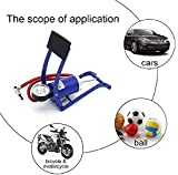 clothsfab Foot Pump New Imported Air Pressure Foot Pump for Car, Bike Bicycle,air