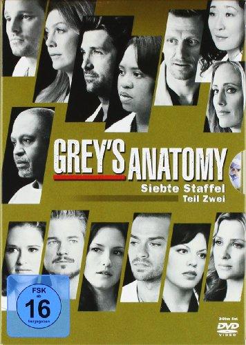 Grey's Anatomy: Die jungen Ärzte - Siebte Staffel, Teil Zwei [3 DVDs] (Greys Anatomy Staffel 2 Und 3)