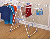 #2: Truphe Winsome Indoor/Outdoor Cloth Drying Stand For Home / Durable & Light Weight / Long & Extended (MADE IN INDIA)