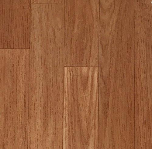PVC Vinyl-Bodenbelag | Muster | in Kirschbaum-Schiffsboden-Optik | CV PVC-Belag in verschiedenen Maßen verfügbar | CV-Boden Meterware | rutschhemmend & robust | Hergestellt in Belgien