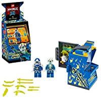 LEGO 71715 NINJAGO Jay Avatar - Arcade Pod Portable Playset, Collectible Prime Empire Ninja Toys for Kids