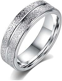 Sorella'z Unisex Alloy Metals Silver Tone Glittering Double Circle Ring