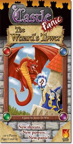 1002 - Castle Panic: Wizard's Tower (Monster High T-shirts Für Erwachsene)