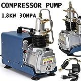 SISHUINIANHUA 220V-240V 300BAR 30MPA 4500PSI High Pressure Air Pump Electric Air Compressor